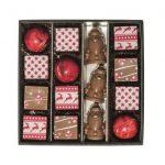 Coffret Noël chocolat lait et caramel Galeries Lafayette