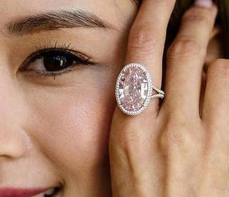 Bague Diamant Pink Promise