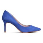 Escarpins bleu Klein