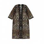 Kimono d'été. coupe droite et manches larges